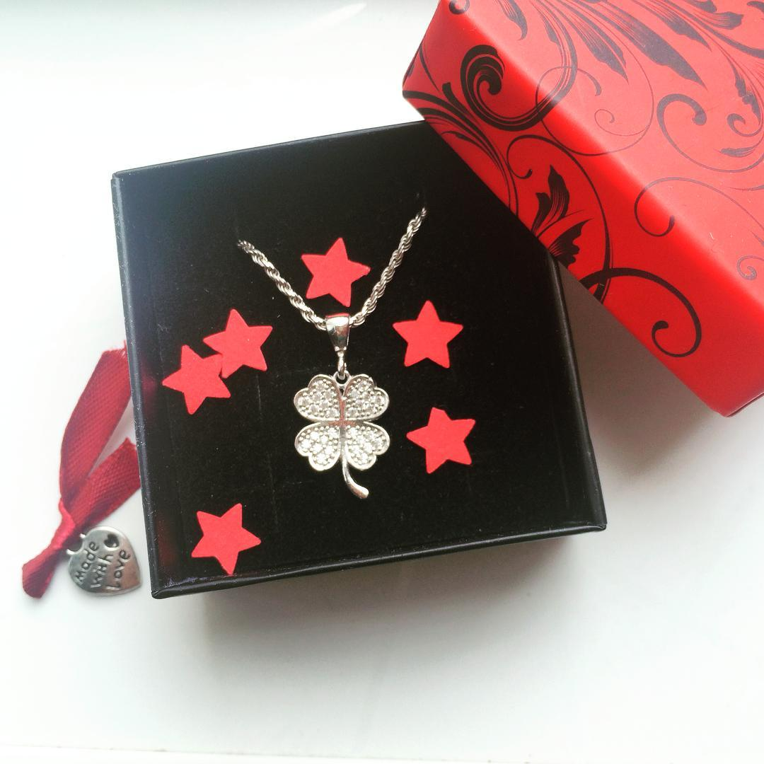 a musthave! nohashtagneeded linkinbio silverboxro clover lucky jewelry luckycharm silvercharmshellip