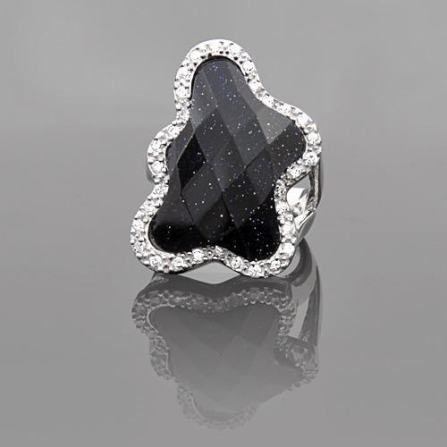 Inel argint masiv cu Piatra Soarelui