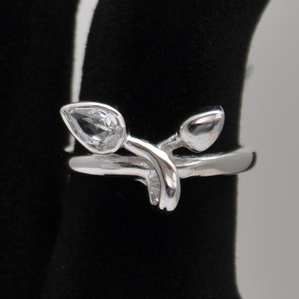 Inel argint cu zirconiu