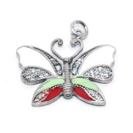 pandantiv fluture argint
