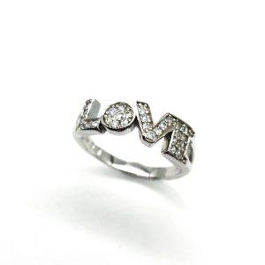 Inel love argint