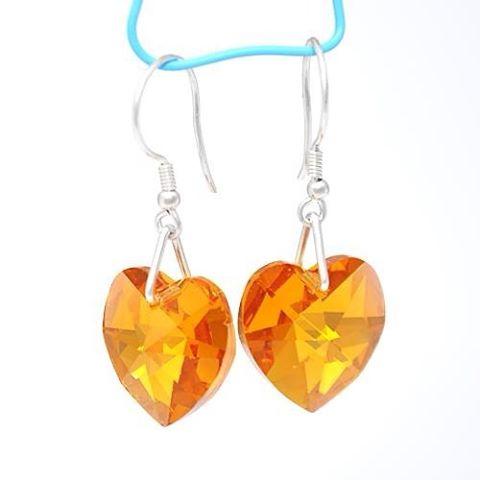 Go silver Go orange Go love silverboxro love earrings jewelryhellip