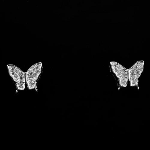 Cercei Fluturasi din argint