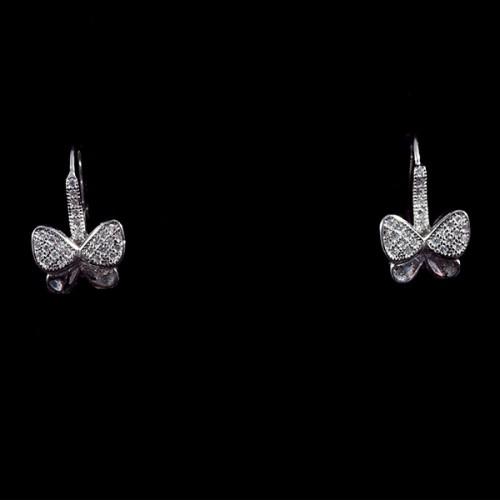 Cercei Fluturi Argint