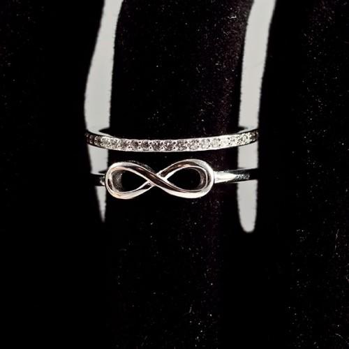 Inel argint Infinit – reglabil