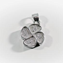 Pandantiv trifoi argint