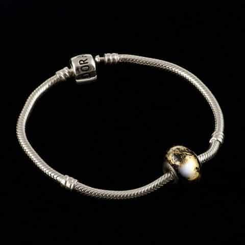 Here we have a goldISH charm for your Pandora bracelethellip