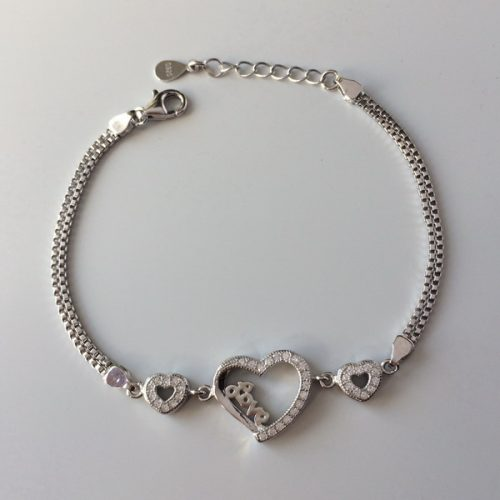Bratara Love argint