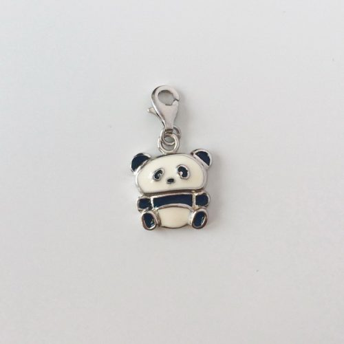 Charm argint Panda