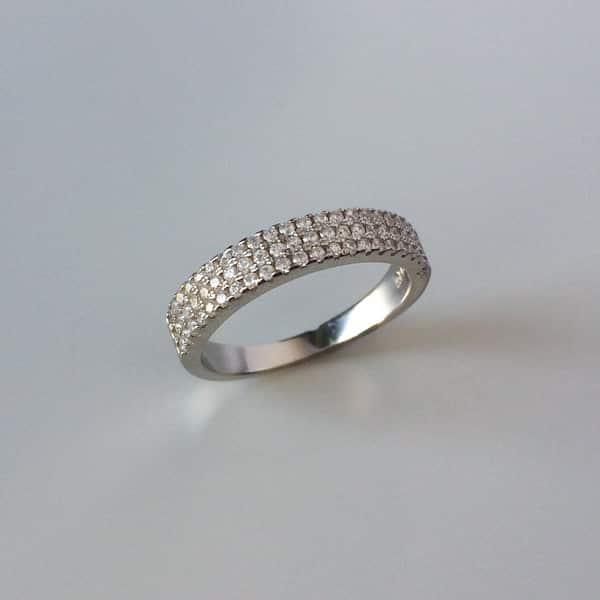 Inel Verigheta Argint Cu Zirconii Din Noua Colectie Silverboxro