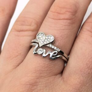 Inele love argint