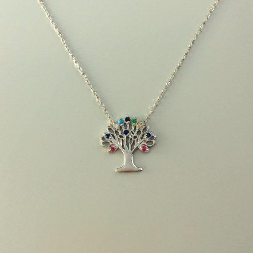 Colier Copacul Vietii din argint