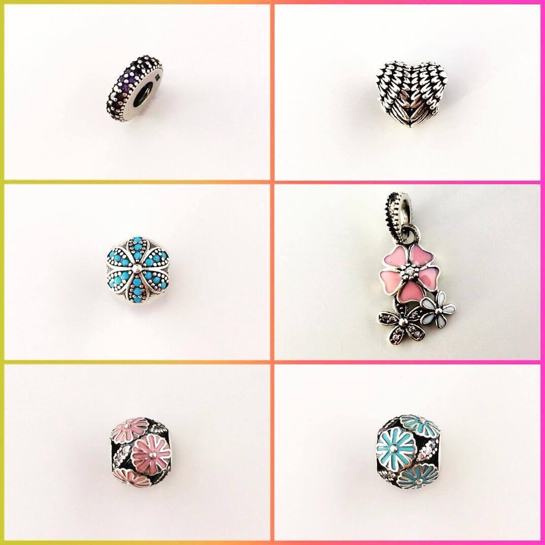 New charms! nouacolectie silverboxro bijuterii talismane charms pandora jewelry