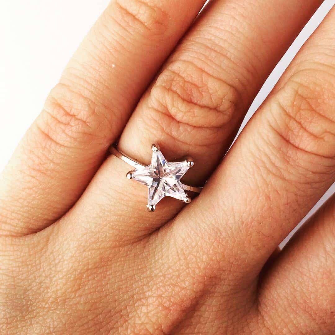 Like a star  nouacolectie silverboxro stea bijuterii inele stelehellip