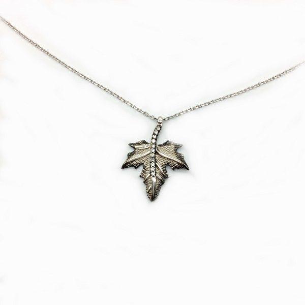 Lantisor frunza de artar argint