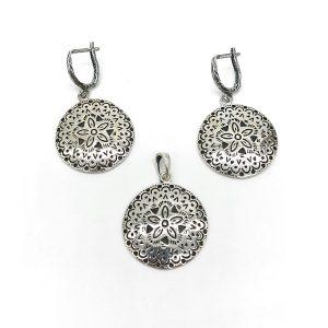 Set Mandala argint