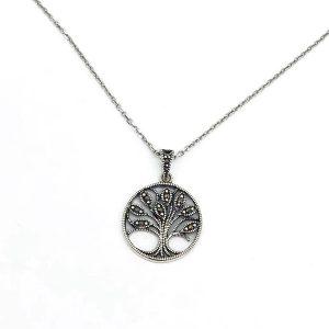 Lantisor Copacul Vietii argint