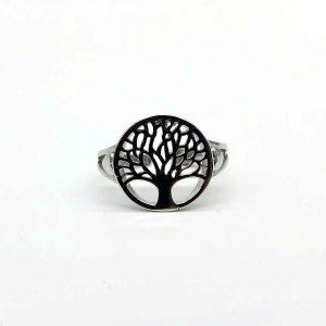 Inel copacul vietii argint