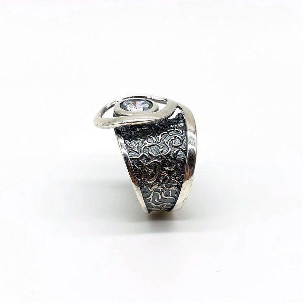 Inel lat argint