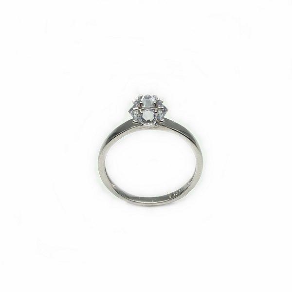 Inel logodna argint