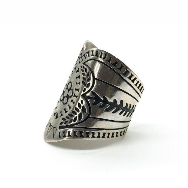 Inel etnic argint