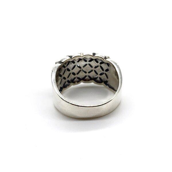 Inel cu marcasite din argint