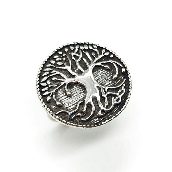Inel Copacul vietii din argint