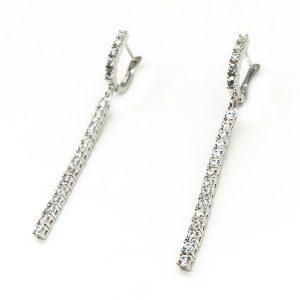 Cercei eleganti argint