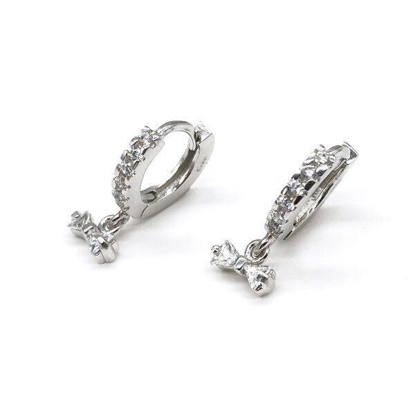 Cercei mici argint fundita