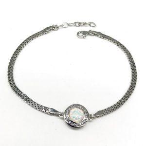 Bratara Opal argint