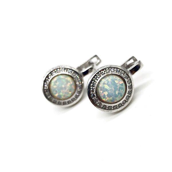 Cercei Opal argint